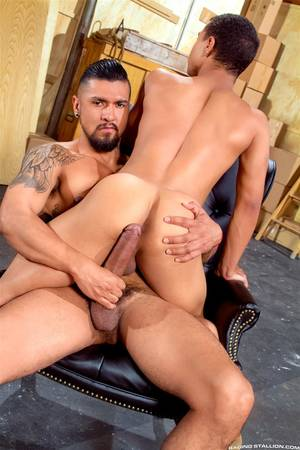 Cock Fucking - ... Raging-Stallion-Boomer-Banks-and-Trelino-Huge-Uncut- ...