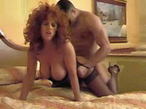 big tits anal redhead - ... Big Tits Kry Unforgettable Anal Fuck In Stockings Thenylonchannel