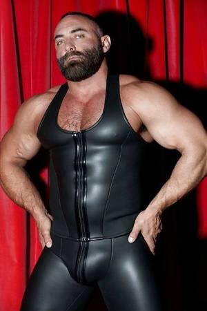 Leather Muscle Porn - Explore Leather Men, Leather Pants and more!