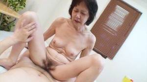 Japanese Grandmother Porn Tubes - Shy Japanese grandma gets toys and cock in her old pussy