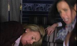 Airline Strip Search Porn - Flight Attendants Love Doggystyle From Passengers