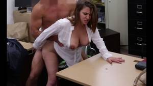 huge ass milf fuck - Milf with big ass and big tits fucked in pawn shop