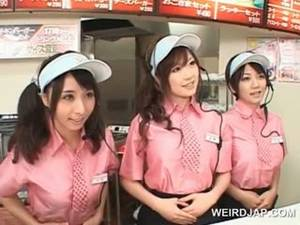 Asian Fast Food Porn - Asian Busty Teen Trio Flashing Tits At T... Movie Length: 310 VipTube. Free  Sex Movies Busty Teen Porn Tube