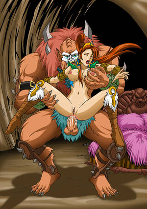Anime Monster Porn Anal - Appealing tentacle screwing and lassie on lassie manoeuvre with monsters