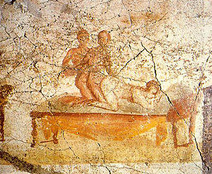 Ancient Roman Art Porn - Erotic art in Pompeii and Herculaneum - Wikipedia, the free encyclopedia