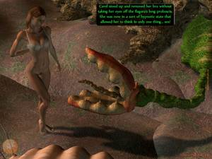 3d Space Alien Sex - Alien plant licks and fucks hot naked babe in fantasy porn