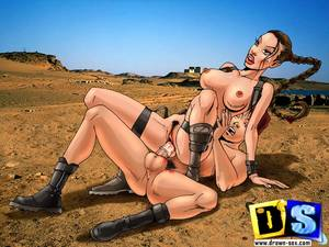 lara croft xxx cartoons free - Lara croft need to find the treasure deep inside her with her male friends  help - CartoonTube.XXX