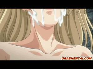 Gangbang Hentai - Hentai With Bigtits Monsters Gangbanged And Hot Facial Cum