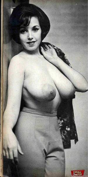 natural vintage breasts - Several Fifities Ladies Showing Their Big Natural Breasts Photo 10 | Vintage  Classic Porn