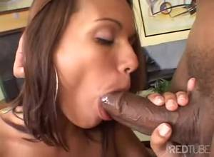 big black latina porn - Taking a big black dick for latina ass