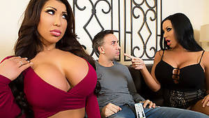 Brazzers Latina Porn - ... Nina Lopez & Bruce Venture in I Need A Ride - 8thStreetLatinas
