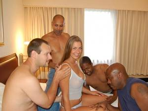 amateur beautiful wife interracial - Husband is loving it!! loving husband showing the guys his beautiful wife