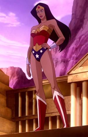 High Resolution Wonder Woman Reality - Wonder Woman Animated Movie
