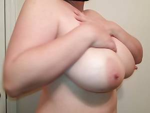 chubby face tits - G tits bbw slut Lateshay natural boobs