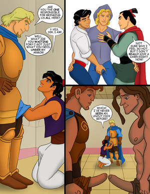 Disney Heroes Gay Porn - Aladdin's Magical Gay Disney Orgy