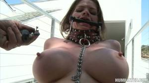mature big nipples tied scared - Helpless June Summers gets her pussy and busty tits pumped to the new level