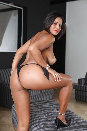 ana large breast - ... Mature Latina brunette Ana Luz demonstrates her big tits and ass ...