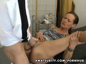 hard anal cum shot - Mature amateur wife homemade anal fuck with creampie cumshot