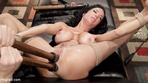 anal love fest - Veronica Avluv in Hogtied Nympho Anal MILF Double Penetration Squirt Fest  December 25, 2014 Double Penetration, Ball Gag