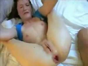 Bbw Gaping Anal - amateur anal fisting and fucking... hole get destroyed