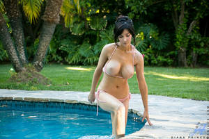 mature poolside - ... Bigtit milf with a smoking hot body gets naughty by the pool ...