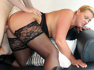 Mature Stocking Porn - REIFE SWINGER - Steamy hard fucking with mature German amateur couple Tanja  and Alexander