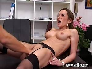 anal bitch milf - Horny milf fisted ass fucked and jizzed in her face