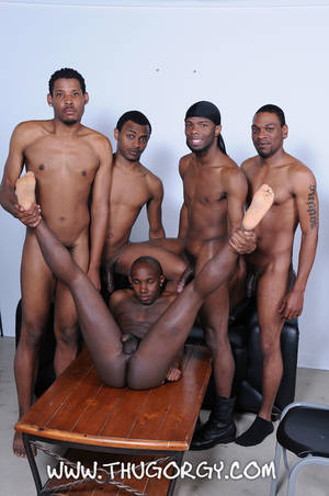 Gay Ebony Orgy Porn - ... Thug-Orgy-Brooklyn-Bounce-Intrigue-Kash-Mr-Wayne- ...