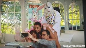Family Strokes - Easter Bunny (Creepy Uncle) Banged H..