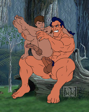 "Disney Heroes Gay Porn - dirty-disney-and-horny-heroes: ""Gaston and Philip! No"