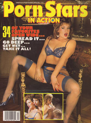 13 Magazine Porn - Erotic X-Film Guide Special # 13 - Porn Stars in Action magazine back issue