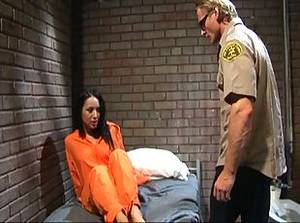 Jail Cell Porn - Jail slut ass screwed with cell mate watching