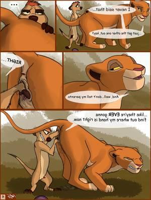 The Lion King Porn Comic