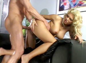 anna blonde anal - Ana Nova dvd porn video from Peter North DVD