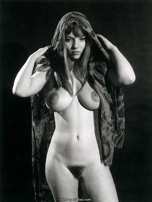 60s pornstars today - 60s Pornstar Captivating Michelle Angelo With Perfectly Shaped Curves  Covering Her Hair 60s Porn Stars