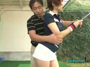 Golf Asian Brunette Porn - Slim Asian Teen Enjoys Sucking Her Golf