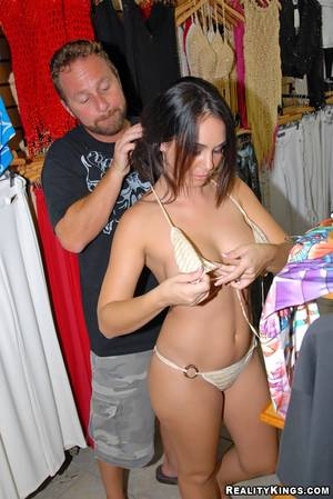 fuck with clothes - ... Awesome all-hole milf hardcore reality fucking in clothes shop ...