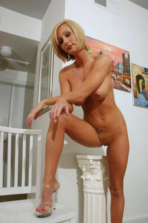 Blonde Mature Short Hair - 252 a milf,mom,wife,mature,blonde,short hair,pussy,shaved pussy,tattoo,high  heels,big tits,nipples image uploaded by user: Grannymommilf at fantasti.cc  ...
