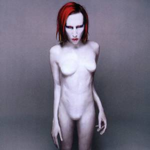 Marilyn Manson Porn - There is the famous Marilyn Manson album cover.