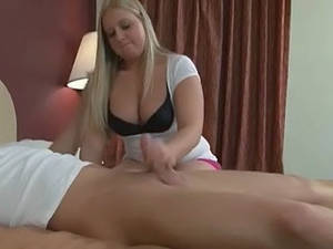 chubby cfnm handjob - ... Babes In Monsters of Jizz Action