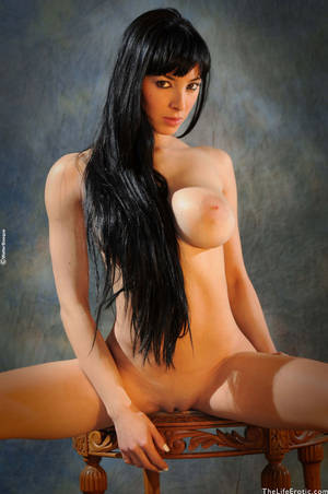Classic Porn Stars Nude - Classic Porn Star Nude Brunette Poses