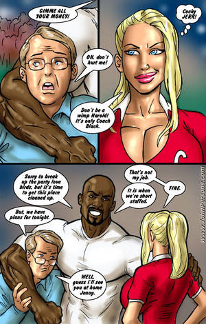 blondie interracial sex cartoons - John Persons Interracial & Taboo Art