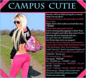 College Sissy Captions Porn - Tuesday, April 22, 2014