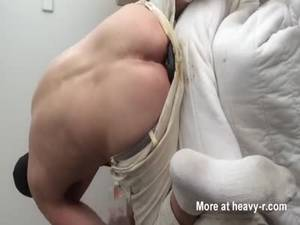 nasty anal hole - Disgusting dirty dildo drilling