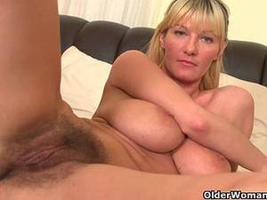 Hairy Mommy Porn - Soccer moms with big tits and hairy pussy masturbate