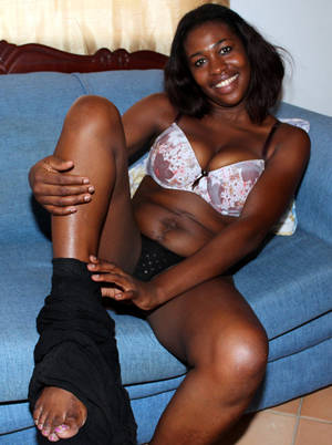 ebony undress porn - Description: Curvy black girlfriend undressing right in the bar in this  pictures
