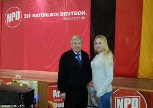 Nazi Party Porn - Representative: She encouraged men to join the party by standing outside  election polls dressed in