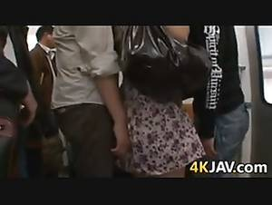 horny asian wife oops - Japanese Chick Fingered In Public ...