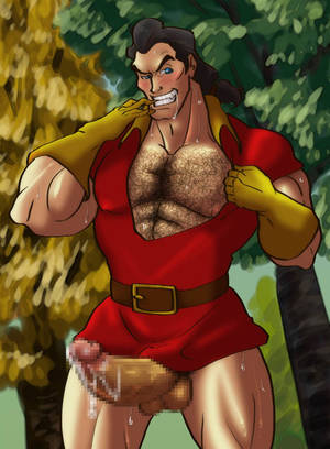 Disney Heroes Gay Porn - Beauty and the Beast, Gay, Sex, Fucking, Penis, Beast, Gaston
