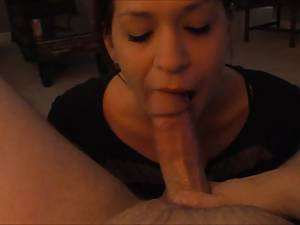 Blowjob Swallow Sex Videos - homemade girlfriend blowjob and big cumshot swallow